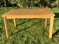 Rubber Wood Table (Extendable)
