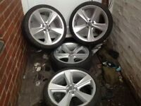 VW 19 ingh alloys (4) wheels £220