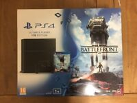Sony Playstation 4 Ultimate Player 1TB and Xbox 360 Go 250GB