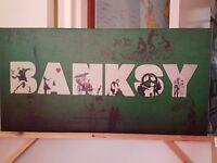 Banksy montage