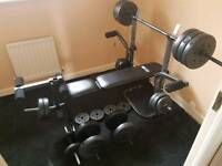 Pro fitness weight lifting bench