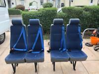 Peugeot boxer double seats x 2
