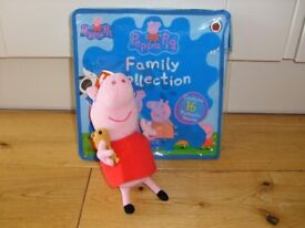 Peppa Pig Soft Toy And Books.