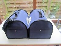 CAT DOG SMALL ANIMAL CANVAS CARRIER BASKET X 2