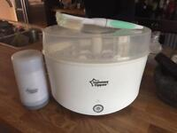 Tommee Tippee electric steriliser and water/food flask