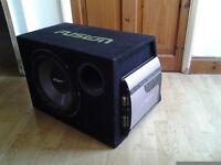 Fusion mutant x speaker and amp