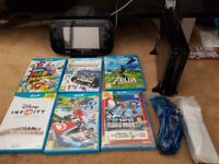 Wii u and 6 games