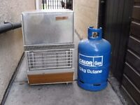 SUPER SER HEATER AND 15kg GAS BOTTLE