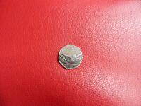 TEAM GB - Rio Olympics 2016 50p coin, rare.