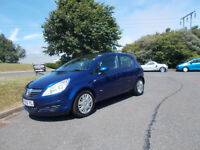 VAUXHALL CORSA 1.2 CLUB HATCHBACK 5 DOOR STUNNING BLUE 2007 BARGAIN ONLY £950 *LOOK* PX/DELIVERY