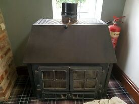 HUNTER LOG BURNER 22KW