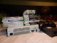 X box Excellent working condition, 2 controllers and 12 games