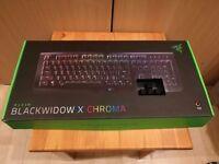 Razer Blackwidow X Chroma mechanic keyboard