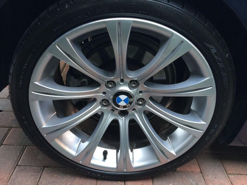 GENUINE 19 inch BMW BBS E60 M5 ALLOY WHEELS & TYRES