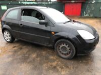 Ford Fiesta Style 1596cc Petrol Automatic 3 door hatchback 05 Plate 27/05/2005 Black