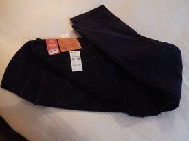 Men's Levi 514s cord jeans