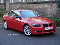 FROM £120PM!!! 57 REG BMW 3 SERIES 2.5 325i SE 2dr COUPE, HALF LEATHER, FSH, 1 YEAR MOT, AA WARRANTY