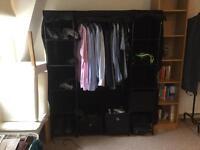 Large black Canvas wardrobe