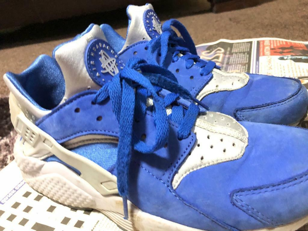 best website 8be33 5836a Nike air huaraches velvet blue size 8.5 UK | in Leicester, Leicestershire |  Gumtree