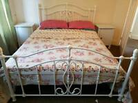 Double Bed with 2 bedside tables