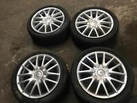 Vw Audi Volkswagen Golf Gt sport alloy wheels set