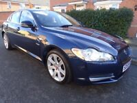 2009 59 JAGUAR XF LUXURY V6 3.0 DIESEL AUTO FULL HISTORY SAT NAV LOW MILES LOOK!