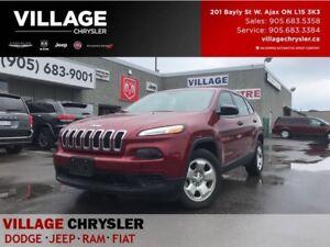 2016 Jeep Cherokee - Company Demo Accident Free