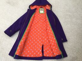 Mini Boden wool duffle coat age 10/11