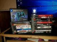 PS3 - All leads and games included