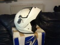 Shark motorcycle helmet,quality,used only 6 months, open face helmet.