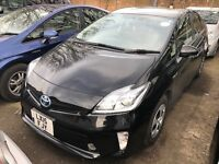 Toyota Prius 15 REG Black Pco London Essex Ilford Stratford