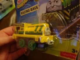 New Thomas and friends Adventures Racing Raul train only £3 ideal gift