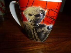 Dr Who collectable mug, Dalek, Scarecrow, Judoon, monsters