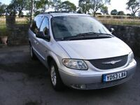 Chrysler Grand Voyager 2.5 CRD Limited. 53 Reg, Long MOT, Please read to avoid any ambiguity.