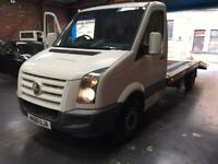 Vw crafter recovery truck 2011 2.5 tdi bluebmoition £8459
