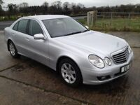 NOW SOLD Facelift Dec 2007 Mercedes E-Class EXECUTIVE CDI 170BHP 6 speed manual FMBSH 6mth warranty