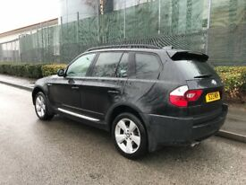 For sale BMW X3 E83 xDrive,3.0 petrol 231bhp,full service,new parts,drives great,looks nice,£3350