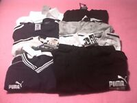 eight assorted tshirts in size large