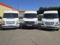 2010 ford transit 17 seater bus 3 in stock 40000 kms with all certs seatbelt etc vans-4-you.co.u k