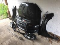 Audi A3 58 plate front end