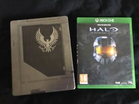 Halo 5 guardian + halo the master chief collection Xbox one
