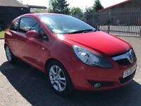 Vauxhall Corsa 1.2 SXI 3 dr 2008 ✿ FULL MOT ✿ LOW MILES ✿
