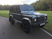 LAND ROVER 90 DEFENDER LANDY IN GREAT CONDITION , MOT AND TAX