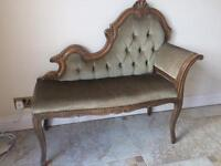 Miniature antique chaise
