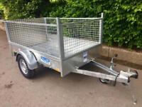 Car trailer 6x4 Dale kane single axle trailer fully welded