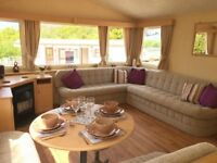 Static Caravan For Sale in Borth, Ceredigion Mid Wales. Sited, 8 Berth, 3 Bedroom. 12 Month Season