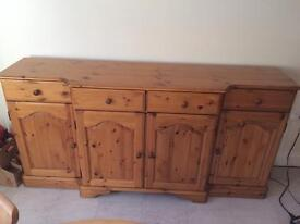 Reduced for Quick Sale - Solid Pine Sideboard