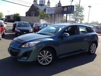 2010 Mazda MAZDA3 SPORT GT 120K LEATHER SUNROOF