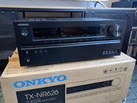 Onkyo TX-NR626 AV Receiver 7.2 Home Cinema Amp 4K 3D