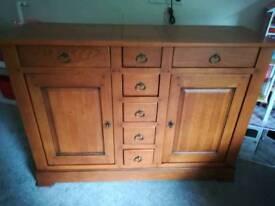 Laura Ashley Laurent Solid Oak Sideboard RRP £1450